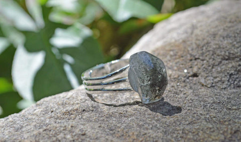 Manifestation Ring - Insight - Phantom Quartz