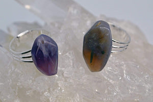 Rings Manifestation Ring - Psychic - Purple Chalcedony