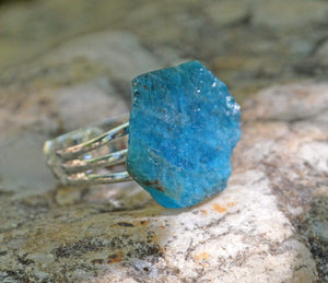 Rings Small Manifestation Ring - Knowledge - Apatite