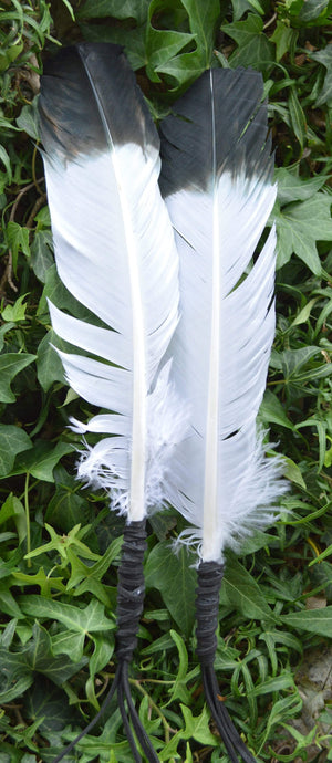 "Smudge Incense Accessories Smudging ""Eagle"" Feather 