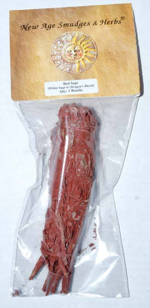 Smudge Sticks Dragons Blood & White Sage Smudge Stick | 5-6""