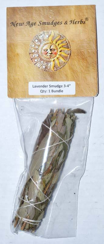 Smudge Sticks Lavender Smudge Stick | 4""
