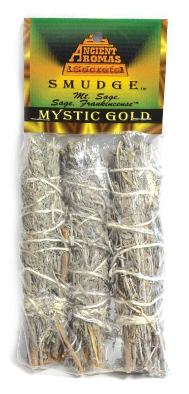 Smudge Sticks Mystic Gold Smudge Stick | 3 pack | 4""