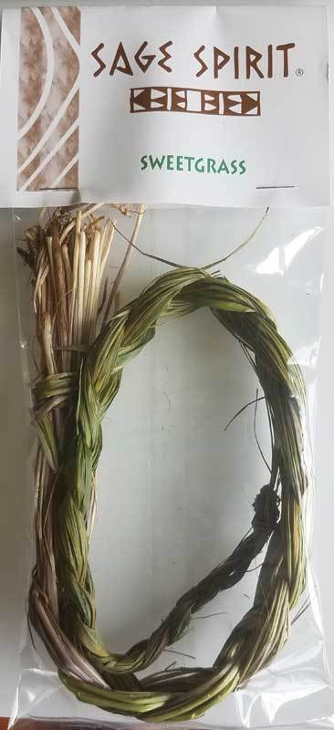 Smudge Sticks Sweetgrass Braid | 18""