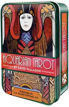 Aquarian Tarot in a Tin by David Palladini