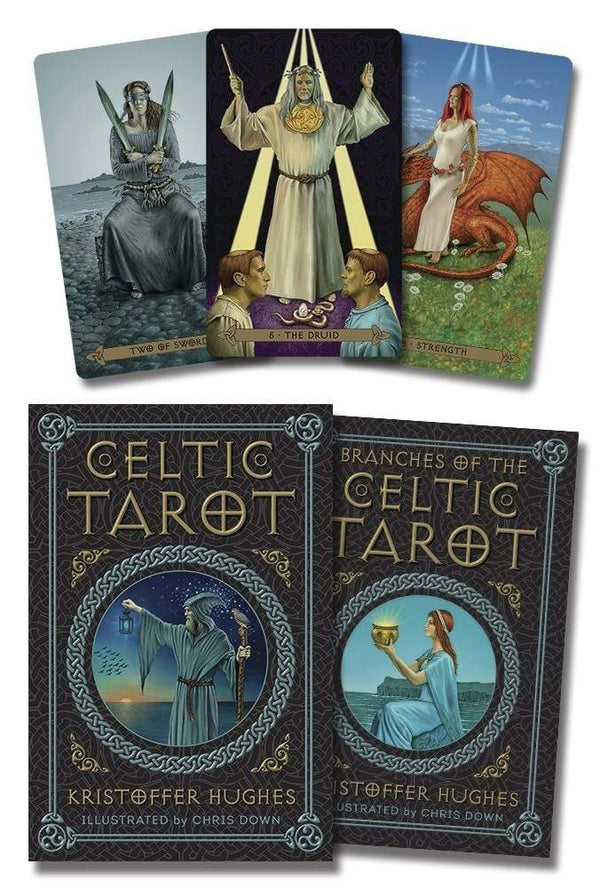 Tarot Decks Celtic Tarot By Hughes & Down