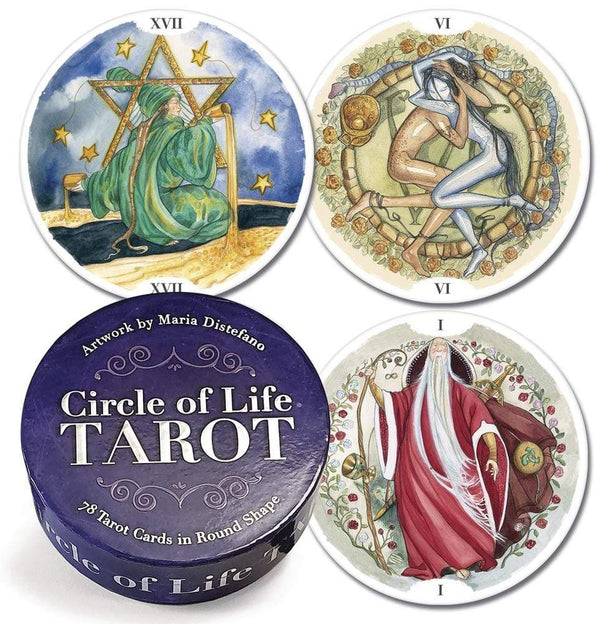 Tarot Decks Circle of Life Tarot Deck by Maria Distefano & Lo Scarabeo