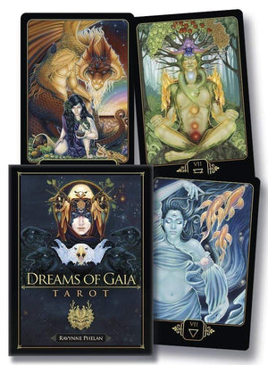 Tarot Decks Dreams of Gaia Tarot by Ravynne Phela