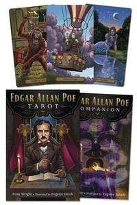 Tarot Decks Edgar Allan Poe Tarot by Rose Wright, Eugene Smith