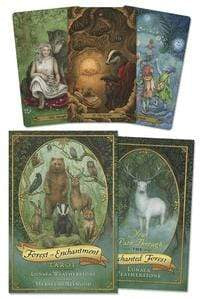 Tarot Decks Forest of Enchantment Tarot by Lunaea Weatherstone, Meraylah Allwood