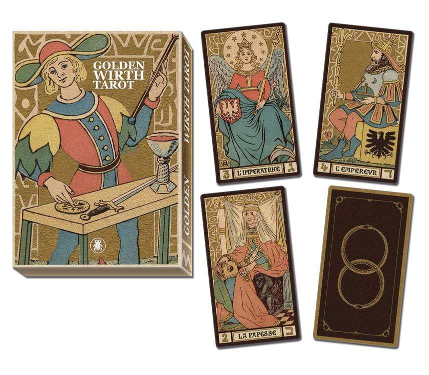 Tarot Decks Golden Wirth Tarot Grand Trumps by Lo Scarabeo