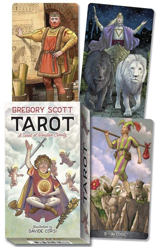 Tarot Decks Gregory Scott Tarot Deck by Gregory Scott, Davide Corsi