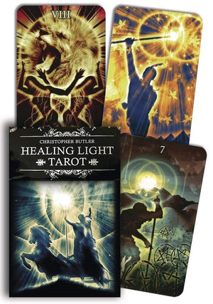 Tarot Decks Healing Light Tarot by Christopher Butler