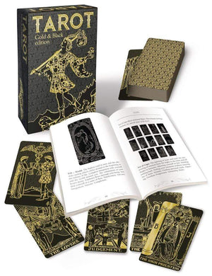 Tarot Decks Tarot Gold & Black Edition by Arthur Edward Waite, Pamela Colman Smith, Mary K. Greer
