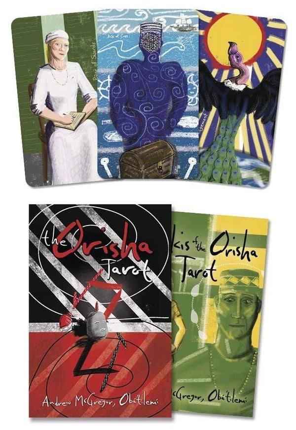 Tarot Decks The Orisha Tarot Deck & Book by Andrew McGregor Oba Tilemi