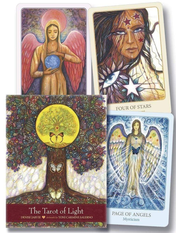Tarot Decks The Tarot of Light by Denise Jarvie, Toni Carmine Salerno