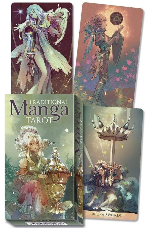 Tarot Decks Traditional Manga Tarot by Shou Xueting, Riccardo Minetti