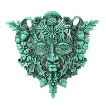 Wall Hangings Greenman plaque