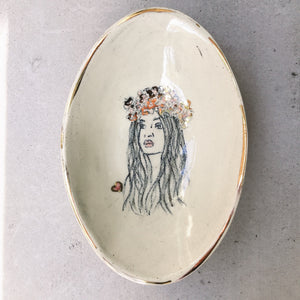 erin oval serving dish