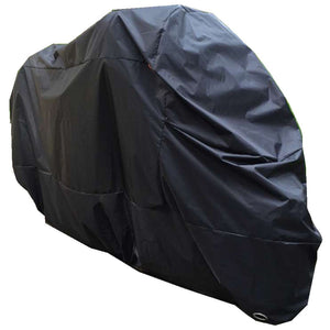 Motorcycle cover size chart