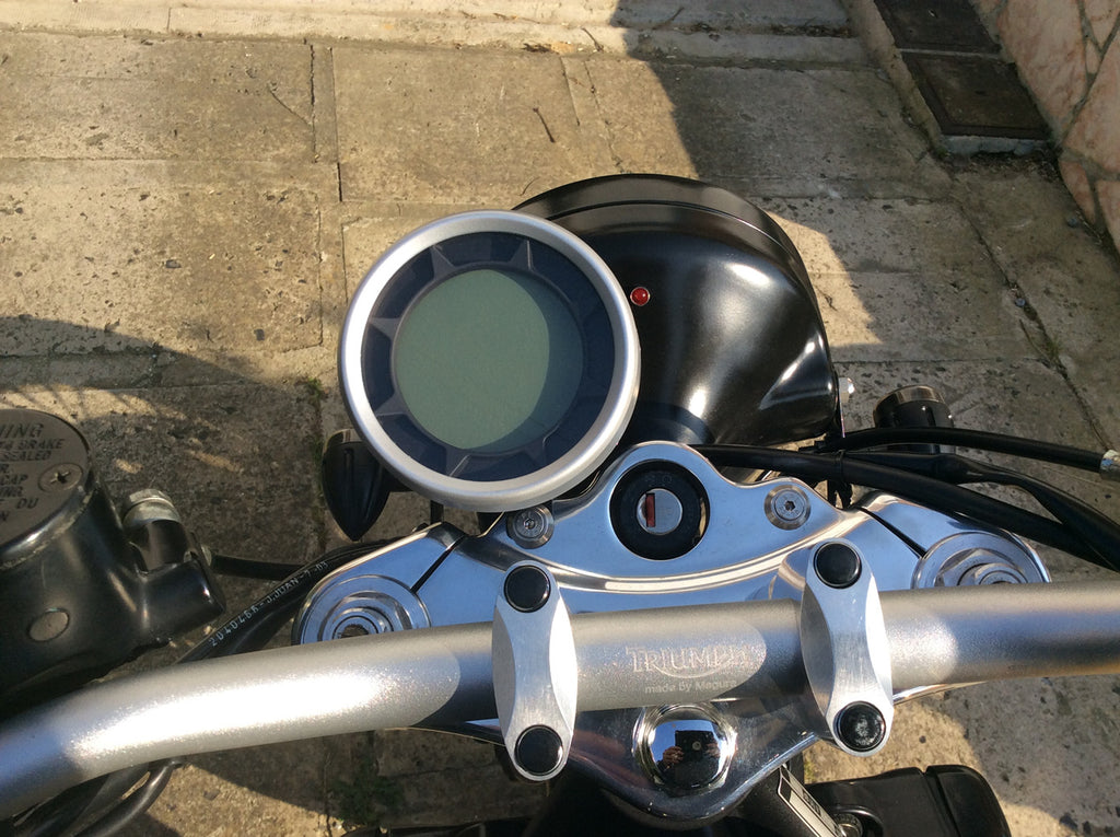 How to Connect SX-05 motorbike meter
