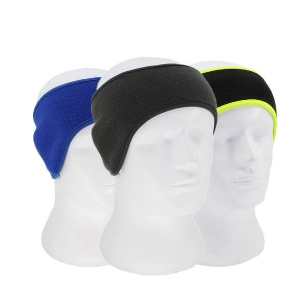 Winter Fleece Headband Ear Warmer 3pcs
