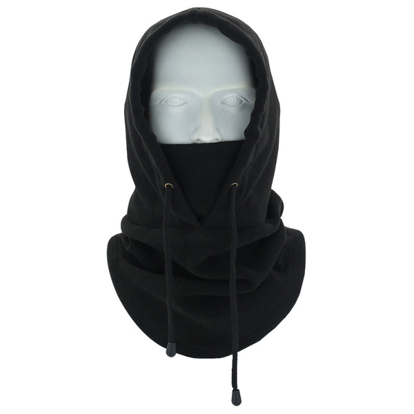 black neck gaiter hoodies