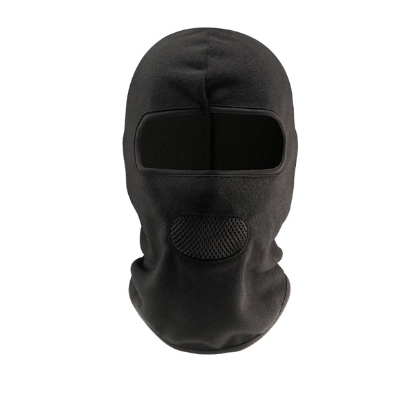 black motorcycle face mask breathable