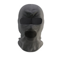 grey motorcycle face mask breathable
