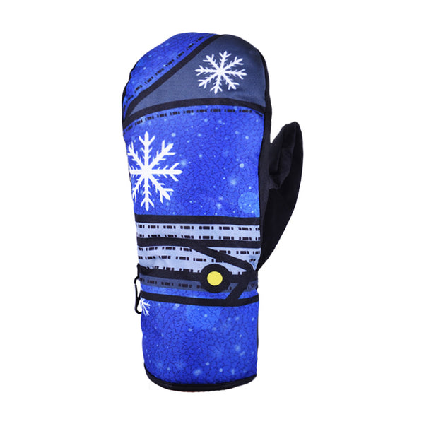 Warmest Womens Ski Gloves Snow Gloves