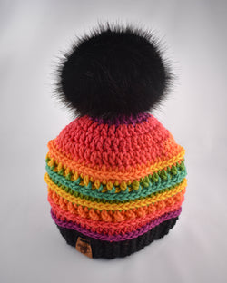 Kids' Katniss Striped Toque