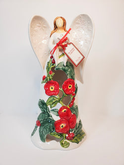 Winter Angel Tealight Holder