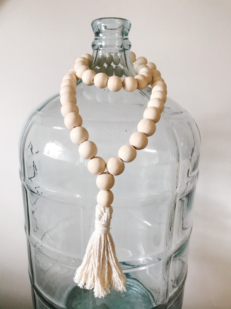 Wooden Bead Garland-Full Loop