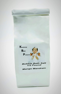Bubble Bath Salts 1/2 Pound