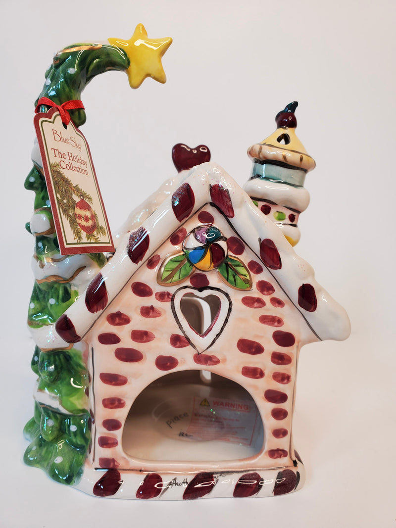 Gingerbread House Candle Holder