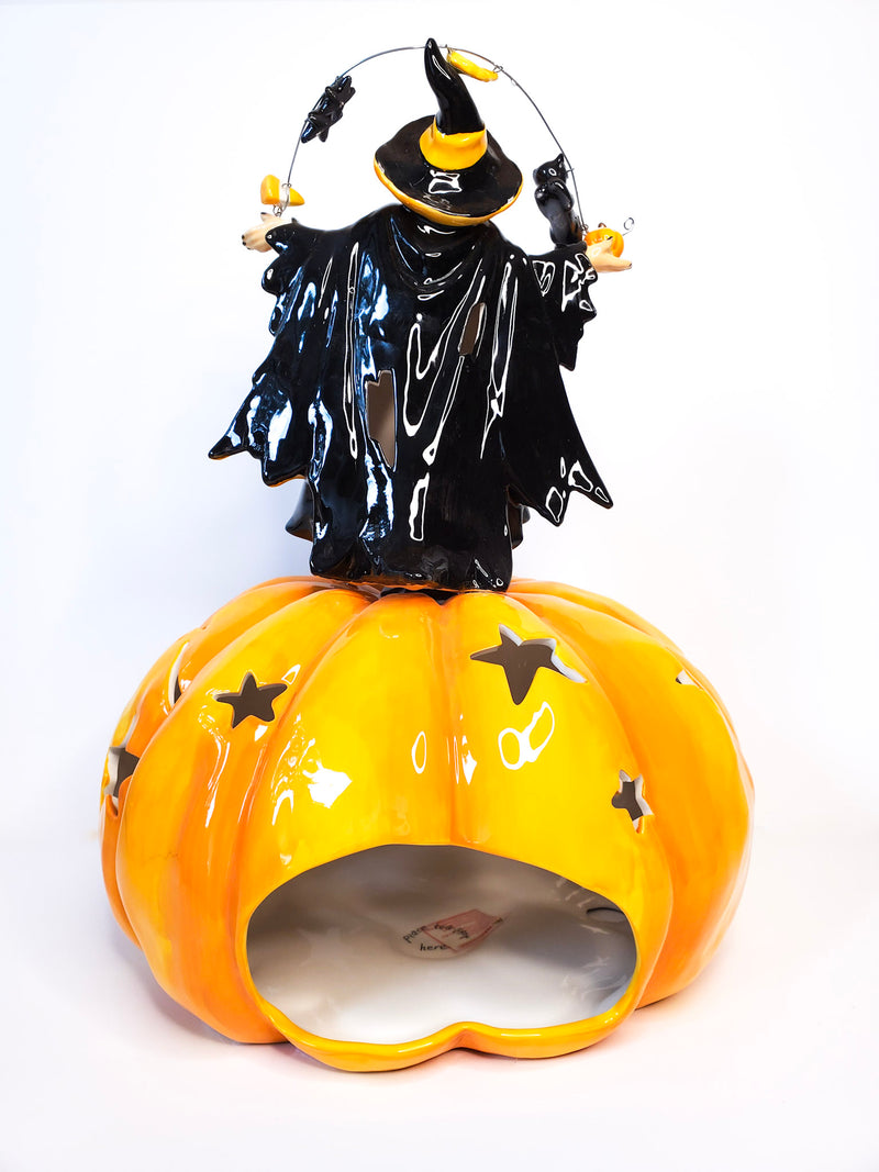 Girty the Witch Candle Holder