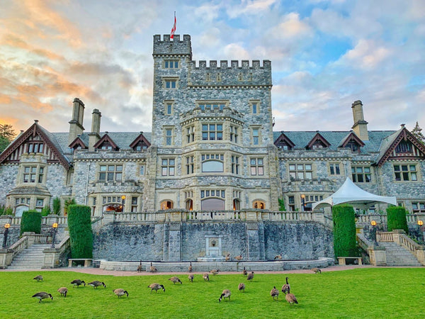 Hatley Castle at Sunset Photography Print