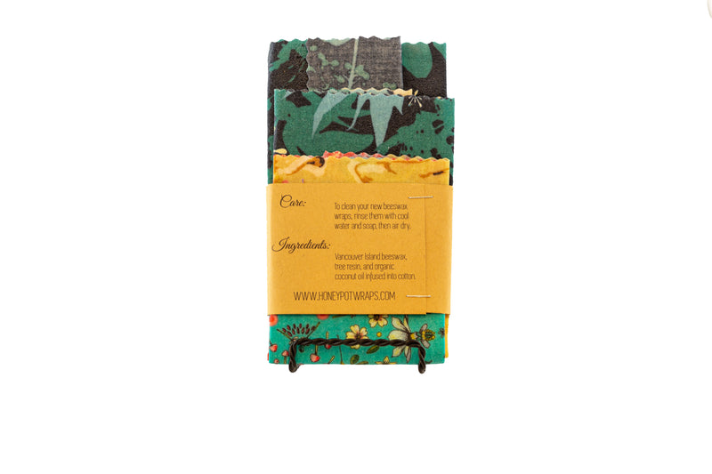 Trio of Beeswax Wraps