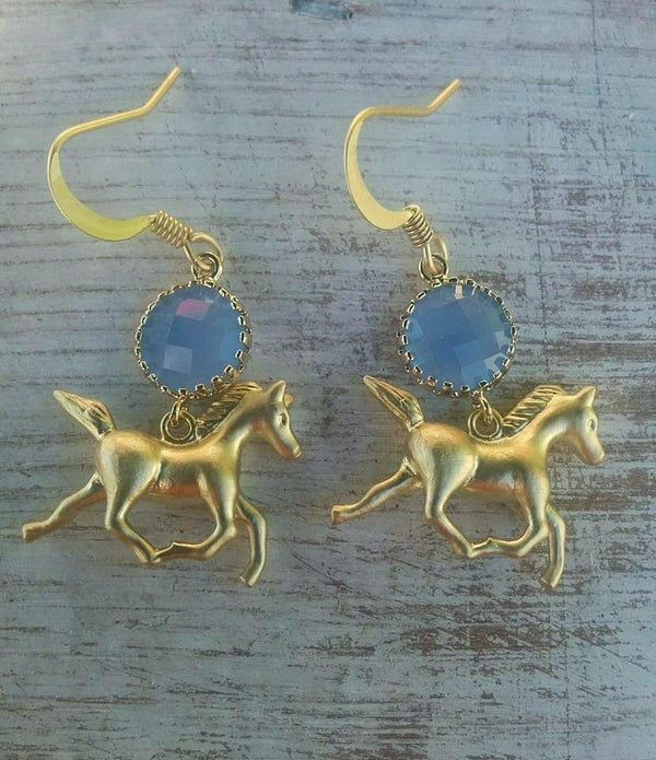 Whimsical Horse Earrings
