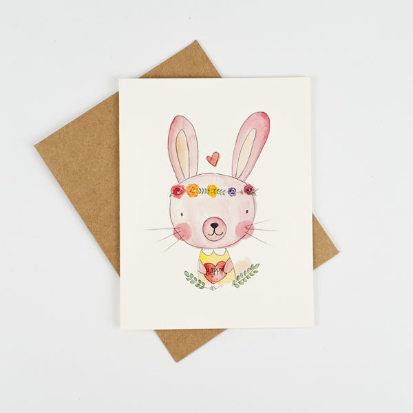 3 Pack of Watercolour Print Greeting Cards