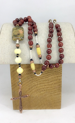 Redwood Blessing Beads