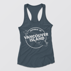 Republic of Vancouver Island Circle Racerback Tank