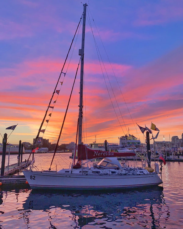 Sailboat Sunset Photography Print