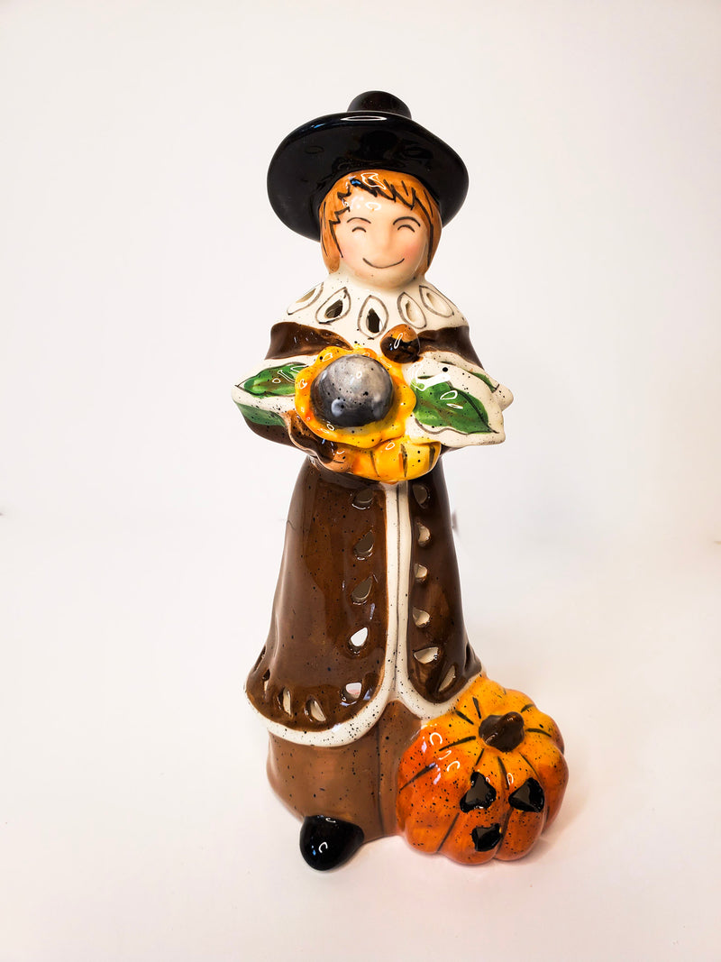 Holiday Pilgrim Tealight Holder
