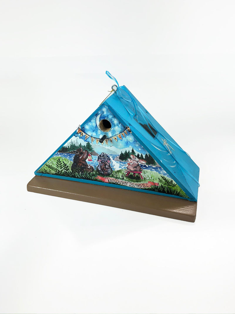 """Star Gazers"" Birdhouse"