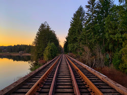 Green Lake Trestle Photography Print