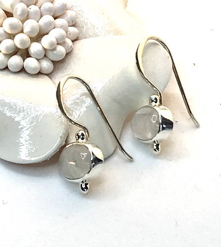 The Purest - Handmade Sterling Silver Earrings with Gemstones