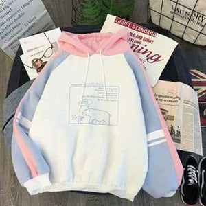 Hoodies Women Autumn Winter Trendy Korean Style Simple Casual Harajuku All-match High Quality Soft Loose Womens Clothing Chic