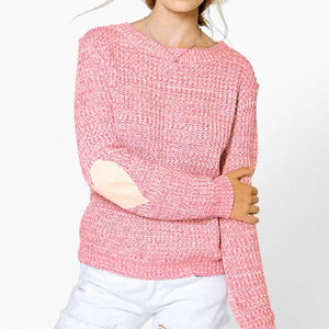 Hot 2017 Fashion Women Sweaters Autumn Casual Heart Long Sleeve Knitwear Jumper Knitted Sweater Loose Pullover Coat Outwear