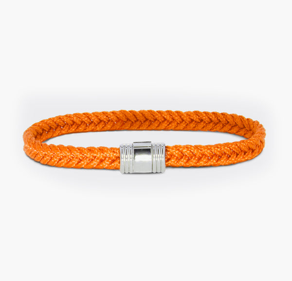 Bracelet Albanu Cordon Marin Orange